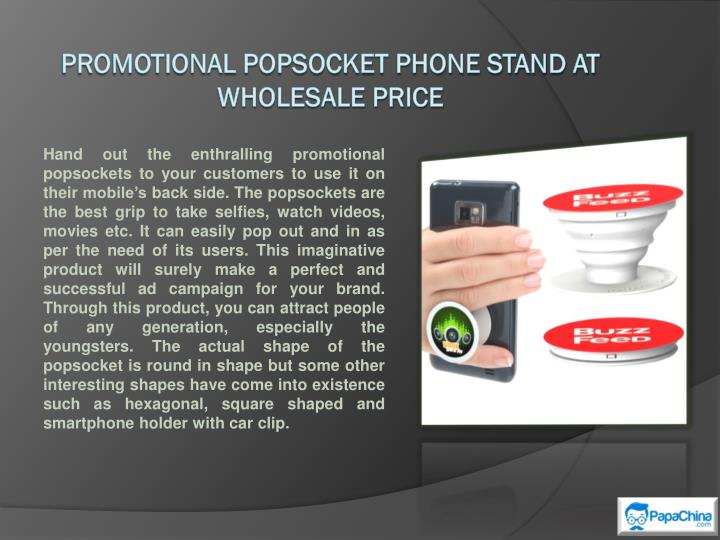 promotional popsocket phone stand at wholesale price n.