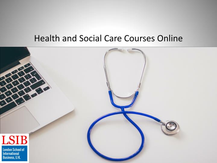 health and social care courses online n.