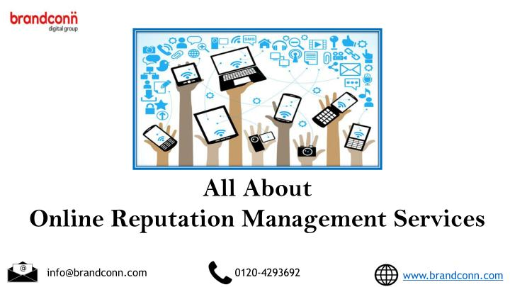 all about online reputation management services n.