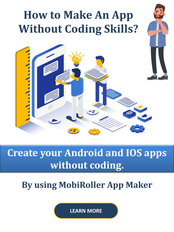 how to make an app without coding skills n.
