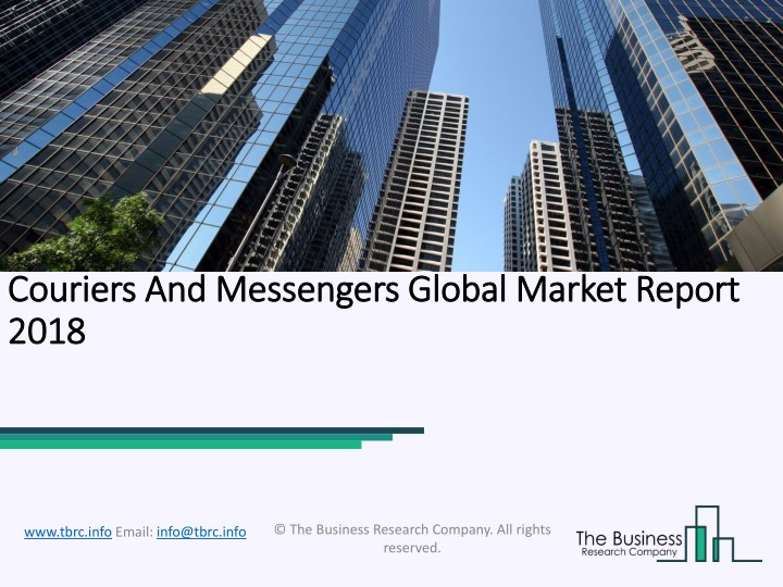 couriers couriers and messengers global market n.