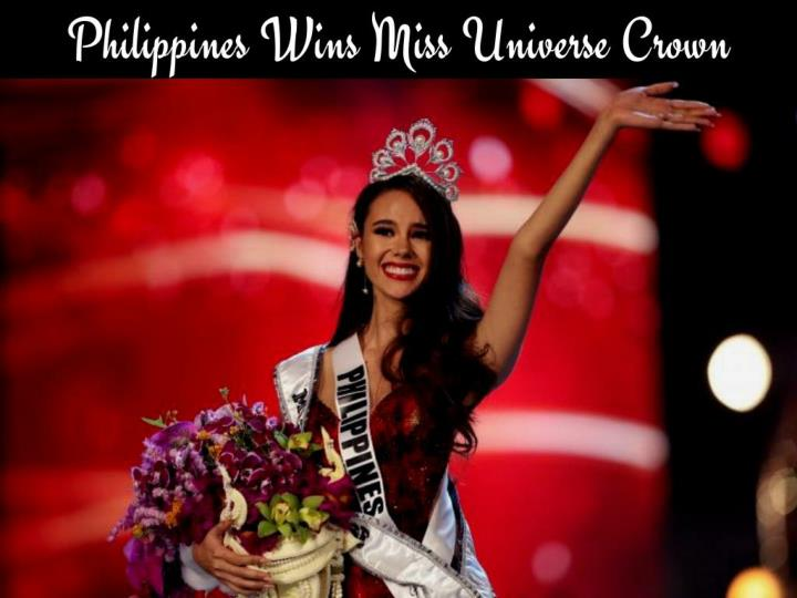 philippines wins miss universe crown n.