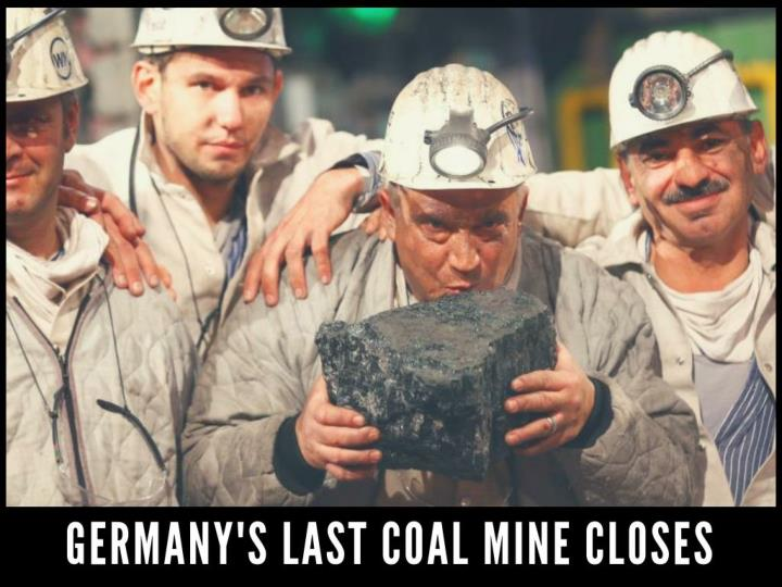 germany s last coal mine closes n.