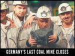 germany s last coal mine closes