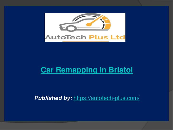 car remapping in bristol published by https n.