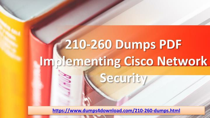 210 260 dumps pdf implementing cisco network security n.