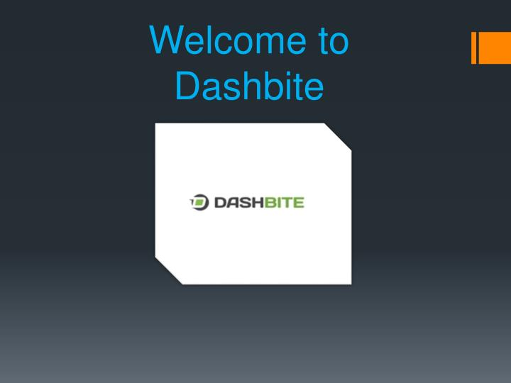 welcome to dashbite n.