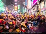 revelers celebrate new year s eve in times square