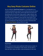 buy sexy pirate costume online