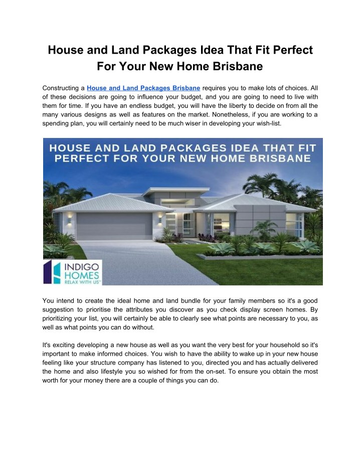 house and land packages idea that fit perfect n.