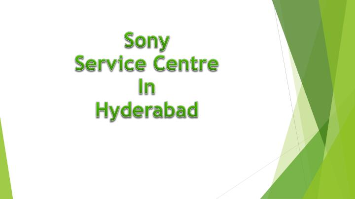 sony service centre in hyderabad n.