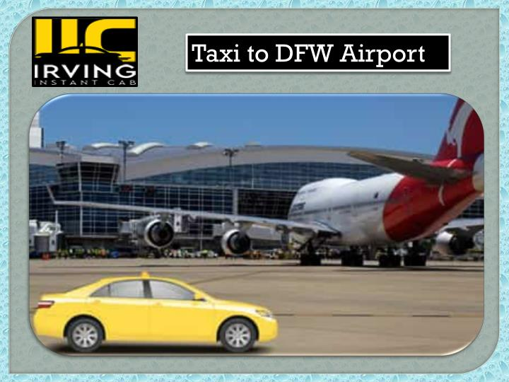 taxi to dfw airport n.