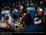 cosplayers watched the film black panther