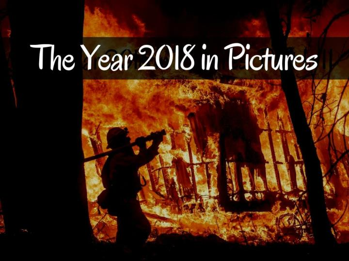 The year 2018 in pictures
