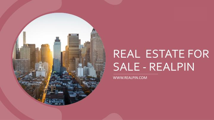 real estate for sale realpin n.