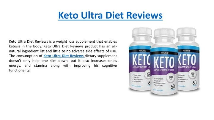 keto ultra diet reviews n.