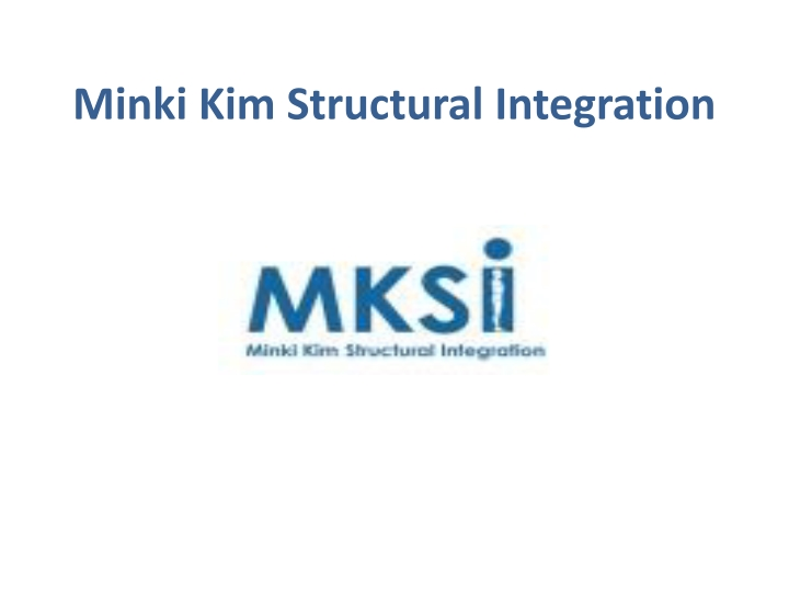 minki kim structural integration n.