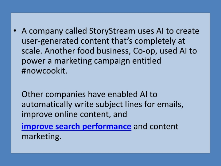 PPT - Is AI in Marketing Merely Over-promoted? PowerPoint
