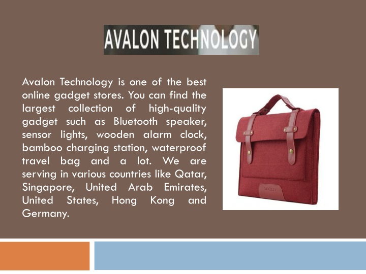 avalon technology is one of the best online n.