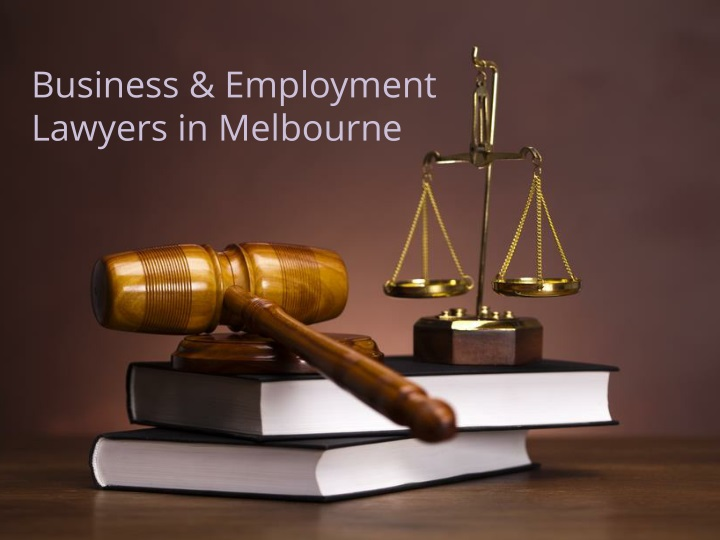 business employment lawyers in melbourne n.