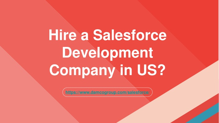 hire a salesforce development company in us n.