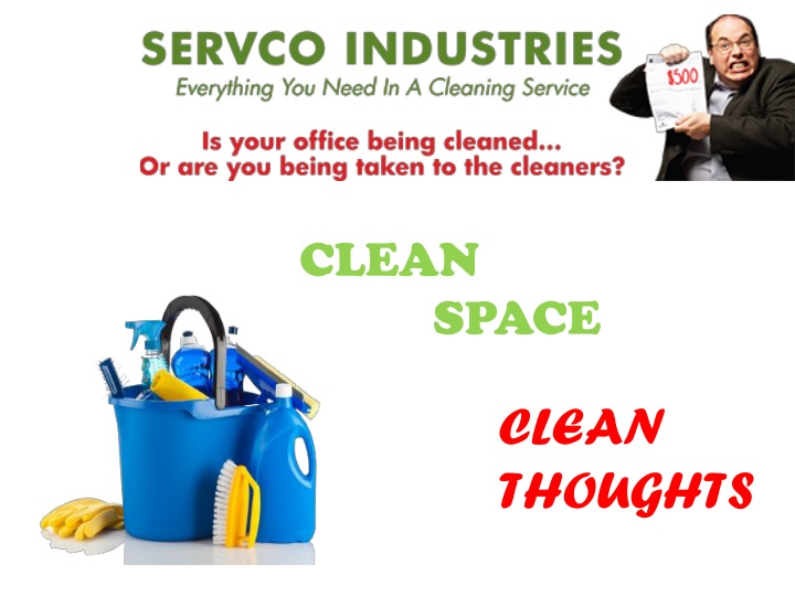 clean space clean thoughts n.