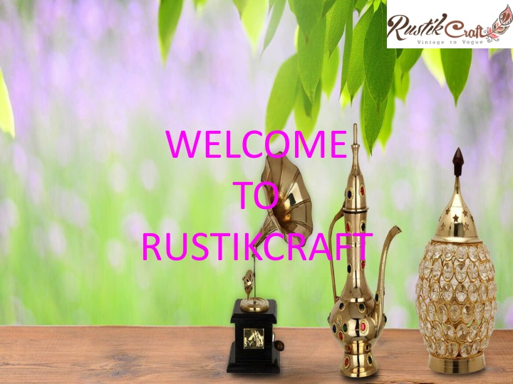 welcome to rustikcraft n.