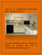 such as air conditioning kitchenette area