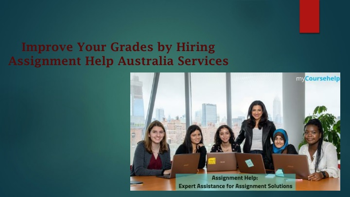 improve your grades by hiring assignment help australia services n.