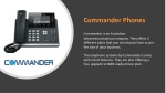 commander phones