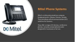mitel phone systems