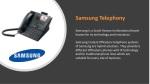 samsung telephony