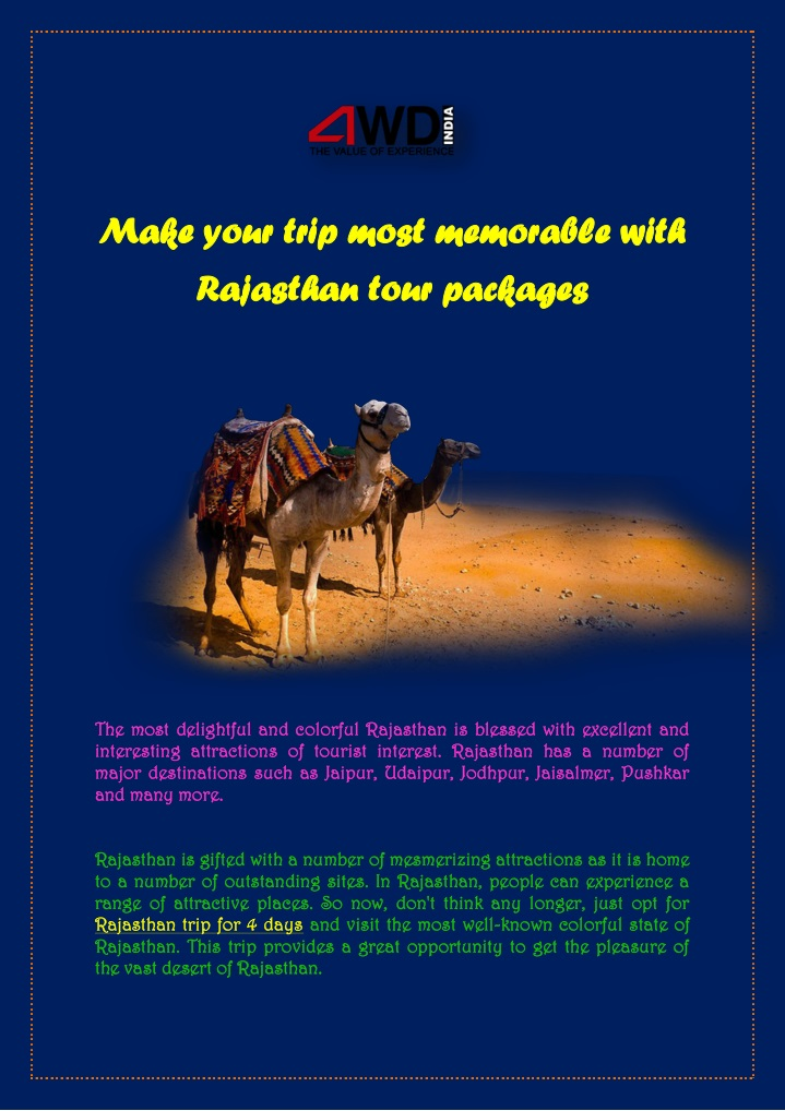 make your trip most memorable with make your trip n.
