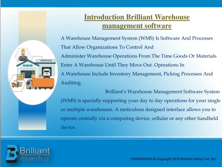 PPT - Warehouse Management System Software PowerPoint Presentation