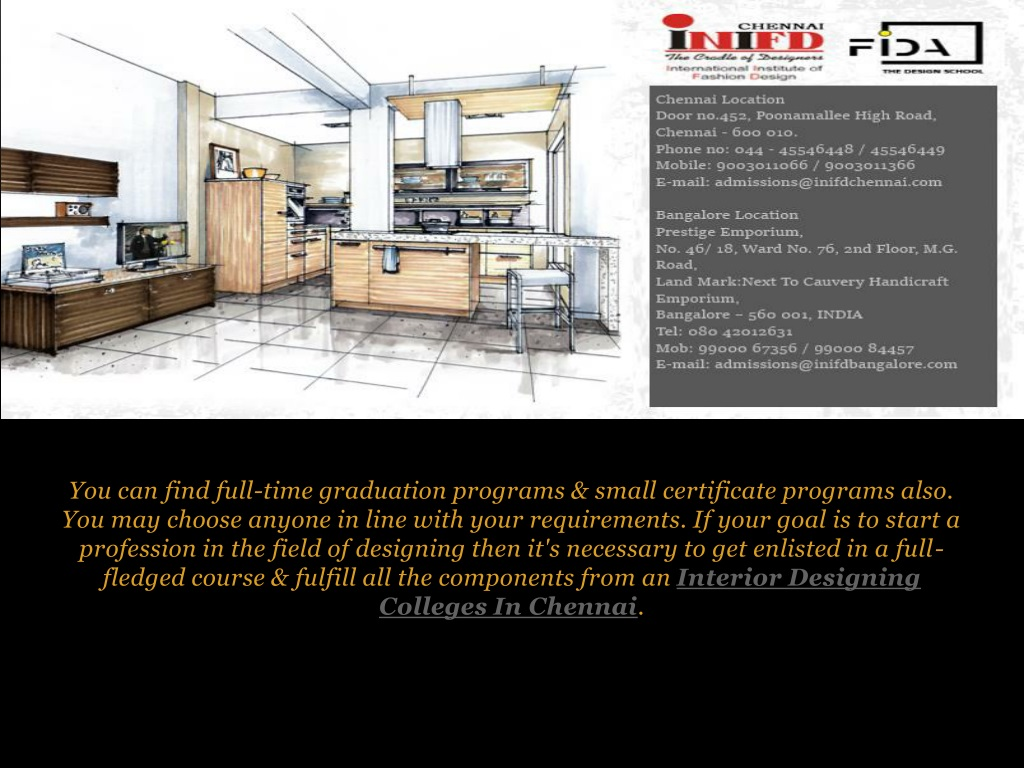 Ppt How Does An Interior Designing Institutes Help In Students Career Powerpoint Presentation Id 8144890