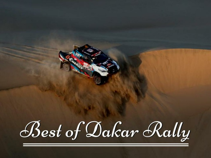 Best of Dakar Daily 2019