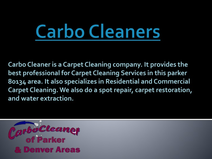 carbo cleaners n.