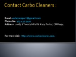 contact carbo cleaners