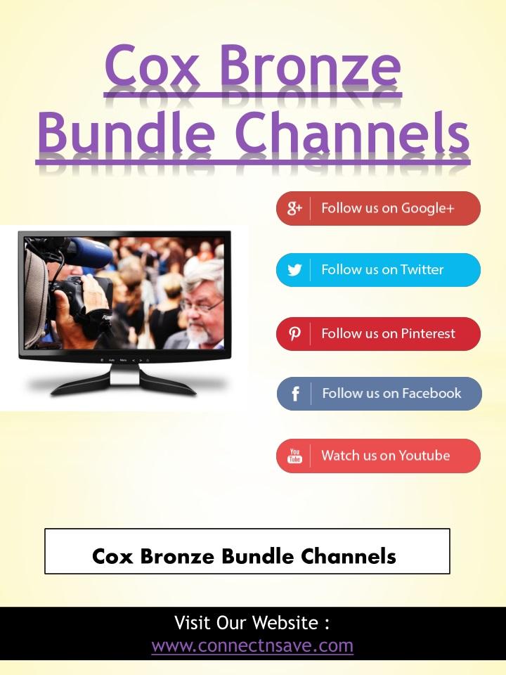 PPT - Cox Bronze Bundle With Phone PowerPoint Presentation