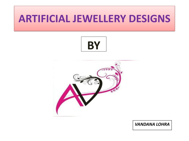 artificial jewellery designs n.