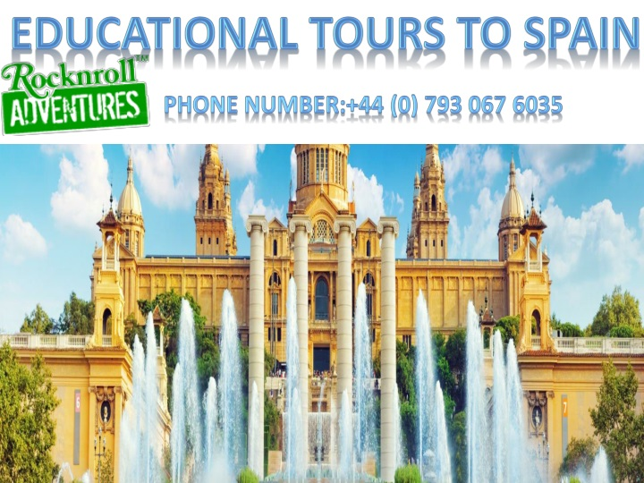 educational tours to spain n.