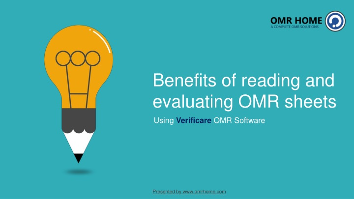 benefits of reading and evaluating omr sheets n.