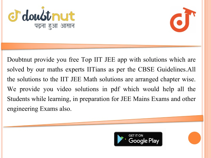 PPT - iit jee solution PowerPoint Presentation - ID:8147269