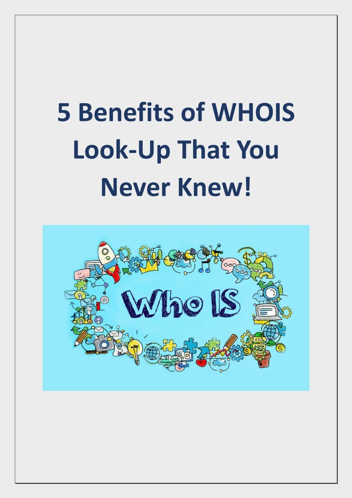5 benefits of whois look up that you never knew n.