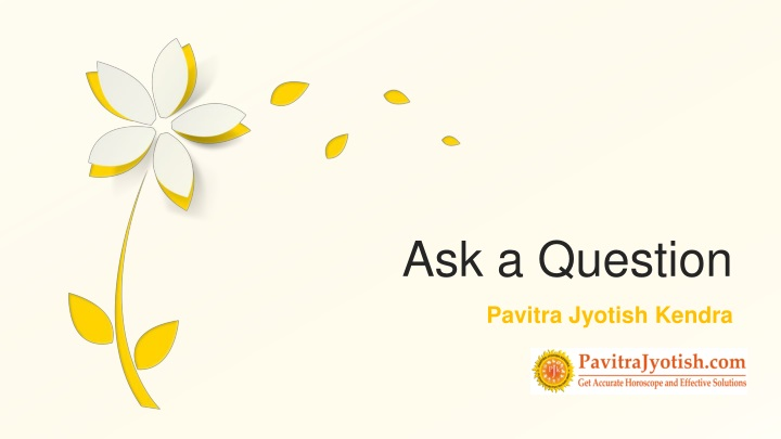 ask a question n.