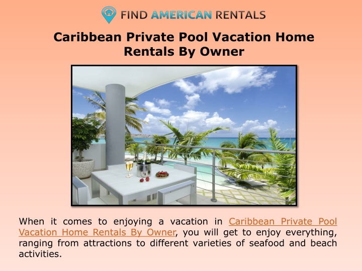 caribbean private pool vacation home rentals by owner n.