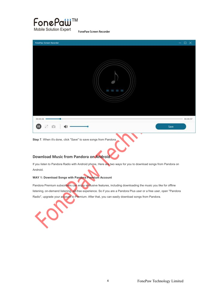 PPT - How to Download Pandora Songs to Computer, Android, iOS