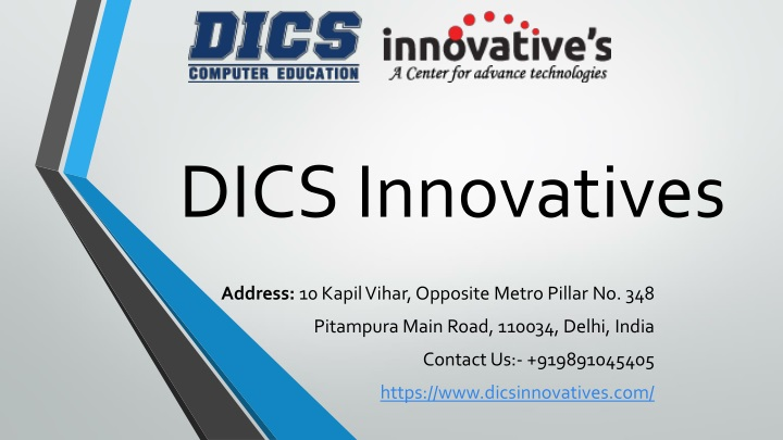 dics innovatives n.