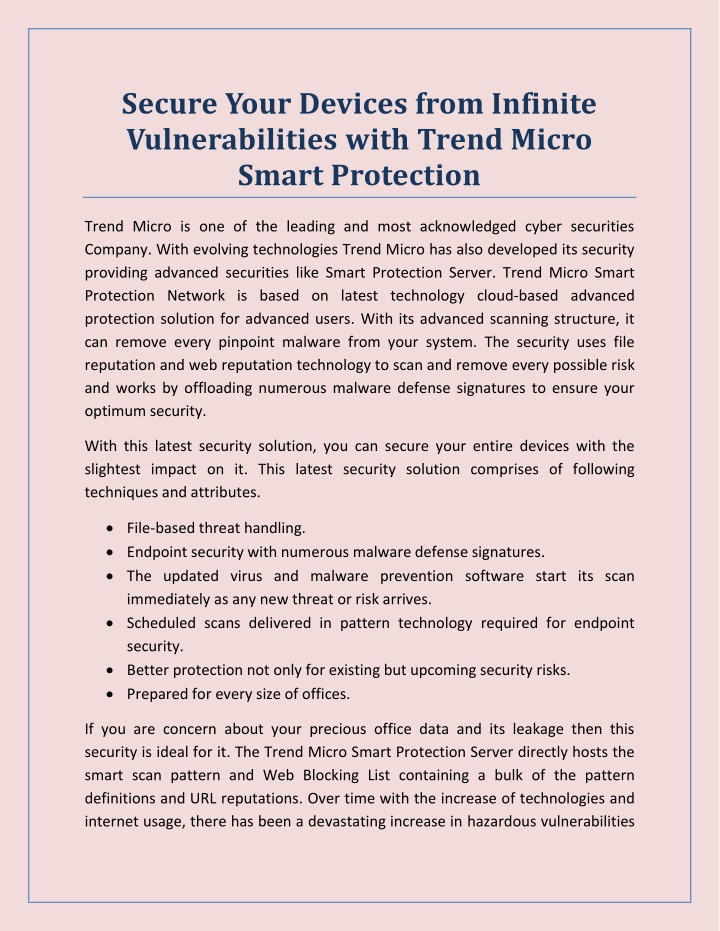secure your devices from infinite vulnerabilities n.