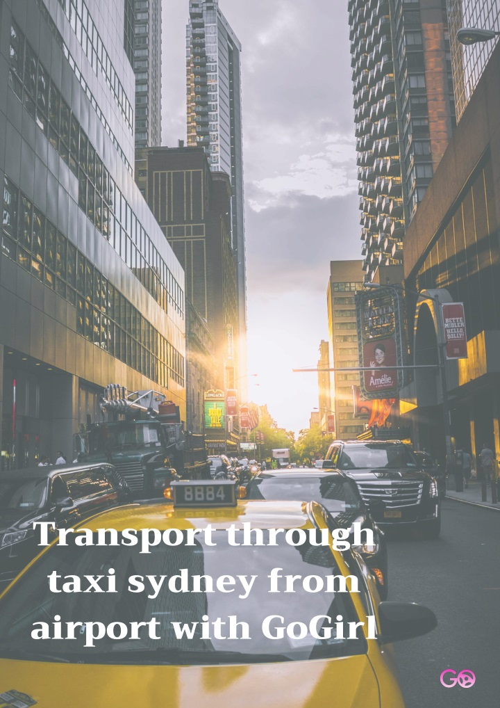transport through taxi sydney from airport with n.